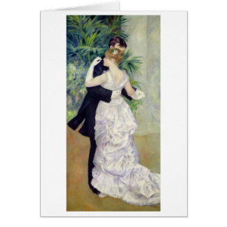 Dance in the City 1883 Greeting Card