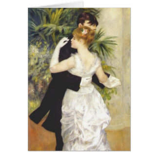 Dance in the City by Renoir Card