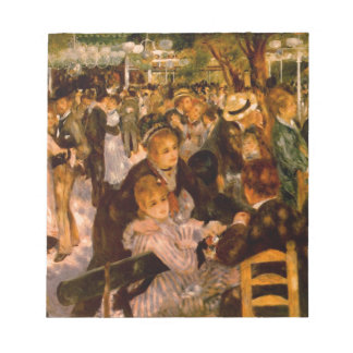 Dance in the Moulin of the Galette Notepad