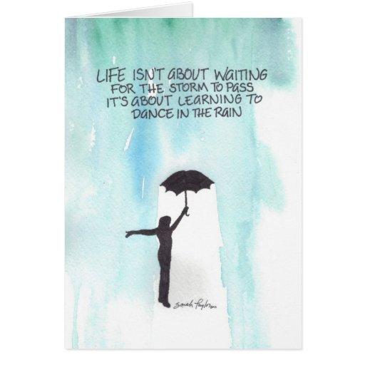 Dance In The Rain Cards