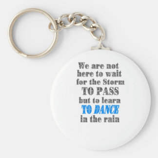 dance in the rain key ring