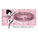 Dance Instructor |  Ballet Dancer | Ballerina Pack Of Standard Business Cards