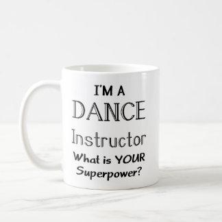 Dance instructor basic white mug