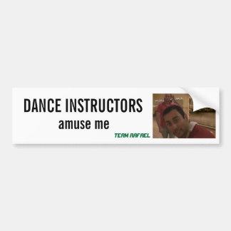 Dance Instructors Bumper Sticker