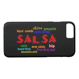 Dance iphone Case Salsa Dancing Word Cloud