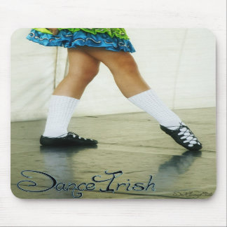 Dance Irish Blue Mousepad