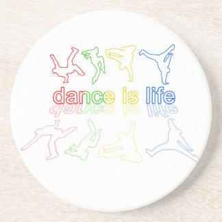 Dance is life coaster