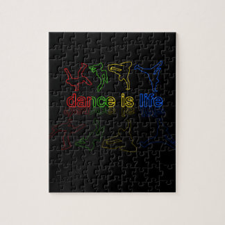 Dance is life jigsaw puzzle