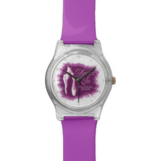 Dance Is Life Wrist Watches