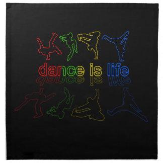 Dance is life napkin