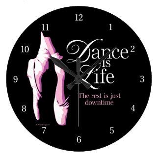 Dance Is Life Wall Clocks