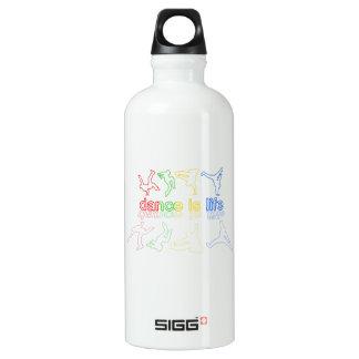 Dance is life water bottle