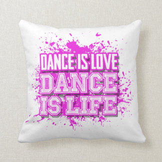 Love Life Throw Pillow : Dance Teacher Cushions - Dance Teacher Scatter Cushions Zazzle.com.au