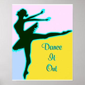Dance It Out Print