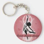 Dance Key Chain