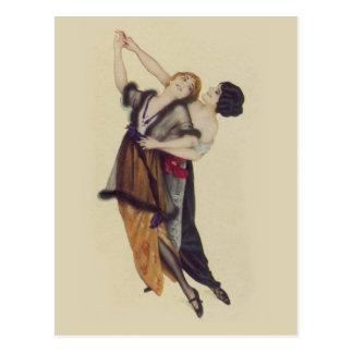 Dance Ladies Postcard