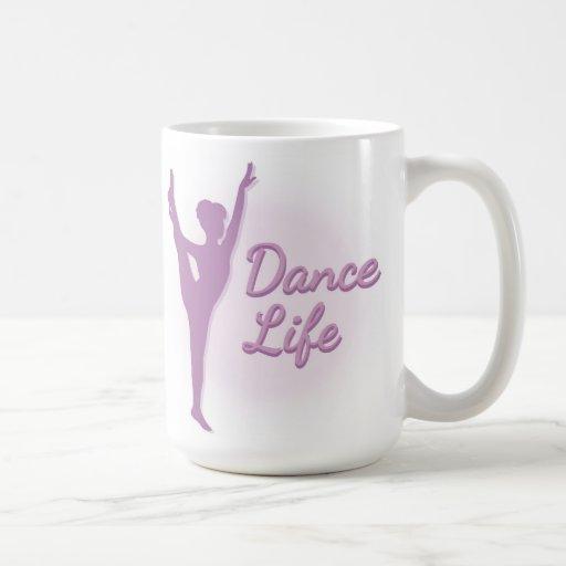 Dance Life Ballerina - Purple - Mug