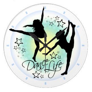 Dance Life Dancing Clock