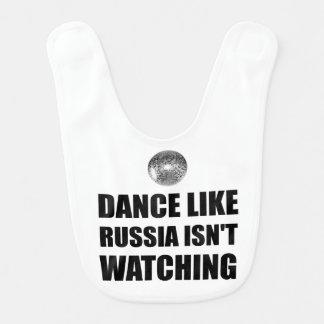 Dance Like Russia Not Watching Bib