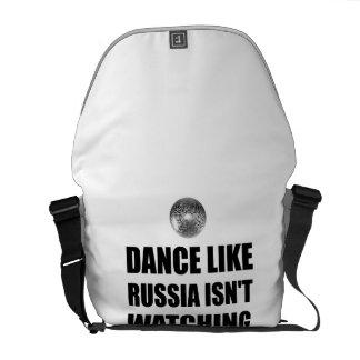Dance Like Russia Not Watching Courier Bag