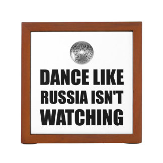Dance Like Russia Not Watching Desk Organiser