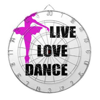 dance love live dartboard