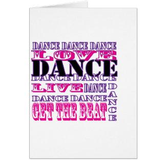 Dance Love Live Get The Beat Girls Apparel Card