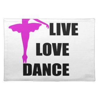 dance love live placemat