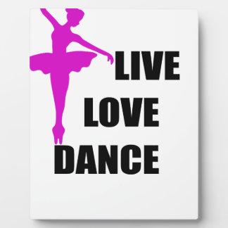 dance love live plaque