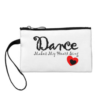 Dance Makes My Heart Sing Coin Wallet