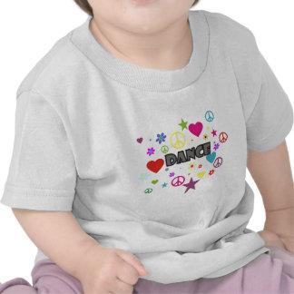 Dance Mixed Graphics T-shirts