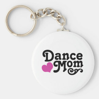 Dance Mom Basic Round Button Key Ring