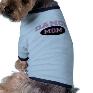 Dance Mom Bold Pink Sporty Text black Dog Clothes