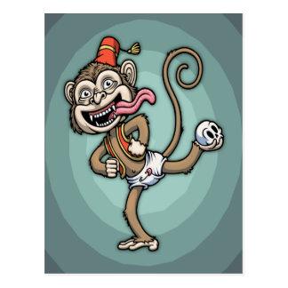 Dance, Monkey! Postcard