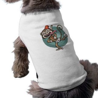 Dance, Monkey! Sleeveless Dog Shirt