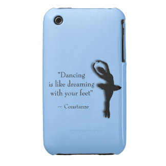 Dance Motivational iPhone 3 Covers