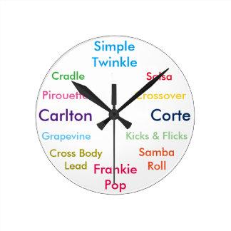 Dance Moves Clock