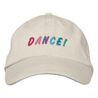 Dance Multicolored Embroidered Cap 2