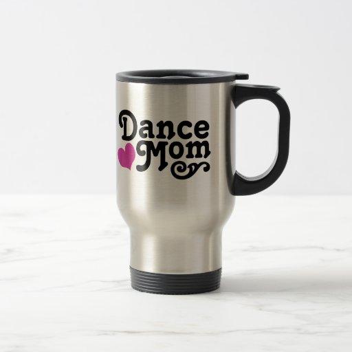 Dance Mum Stainless Steel Travel Mug