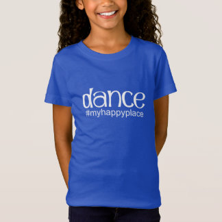 Dance #myhappyplace - Royal T-Shirt