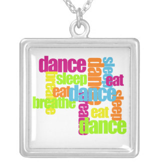 Dance Necessities Silver Plated Necklace