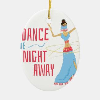 Dance Night Away Ceramic Ornament