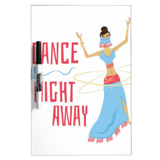 Dance Night Away Dry Erase Board