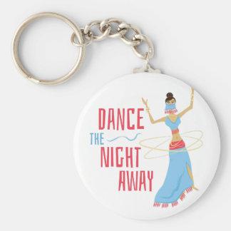 Dance Night Away Key Ring