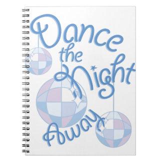 Dance Night Away Notebooks