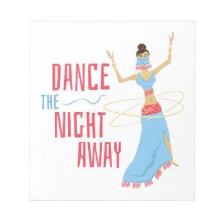 Dance Night Away Notepad