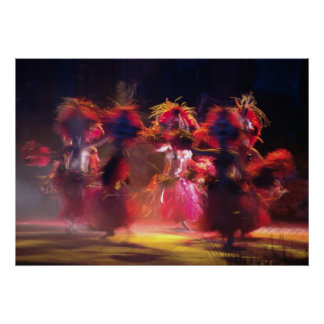 Dance Of Colour Poster