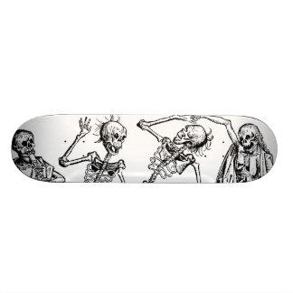 Dance Of Death By Michael Wolgemut 1493 21.3 Cm Mini Skateboard Deck