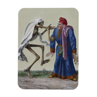 Dance of Death in Basel | The Lawyer Rectangular Photo Magnet