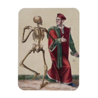 Dance of Death in Basel | The Physician Rectangular Photo Magnet